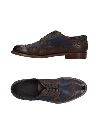 Doucal's Lace Up Shoes Dark Brown 25dToA