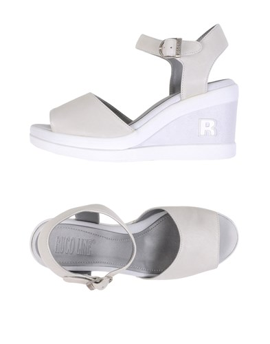 Ruco Line Sandals Ivory czVf5