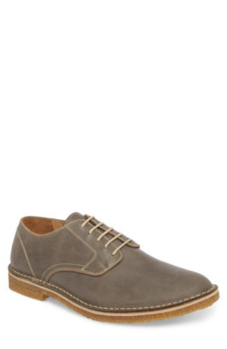Nordstrom <span>                 1901 Crescent Buck Shoe Grey Leather             </span>              0qpu4JoM2g