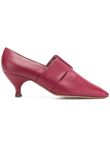 Pointed Toe Vintage Pumps Red Gigli Romeo 8qEvnwFx