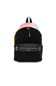 Saint Laurent Mini Ombre Satin City Backpack In Pink tLQFfCI
