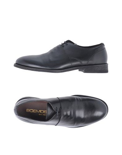 Boemos Lace Up Shoes Black CyEFizLNf