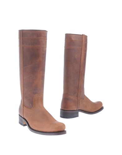 CAMPEROS Boots Brown Ti0GT