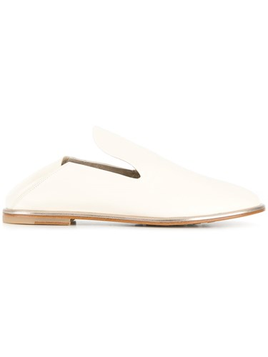 Agl Low Heel Mules White NbSsE3EhCk