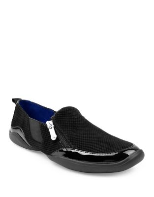 Adrienne Vittadini Ganesa Slip On Sneakers Black nZ6TtQt