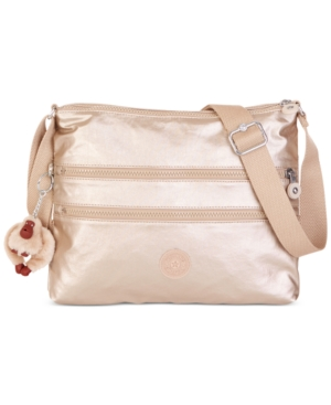 Gold Kipling Bag Alvar Gleaming Crossbody Metallic xIpUnZq