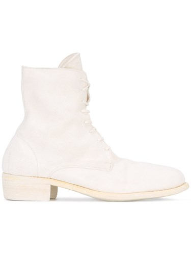 Guidi Lace Up Boots Men Horse Leather Leather 42 White IS3J1j8Vn