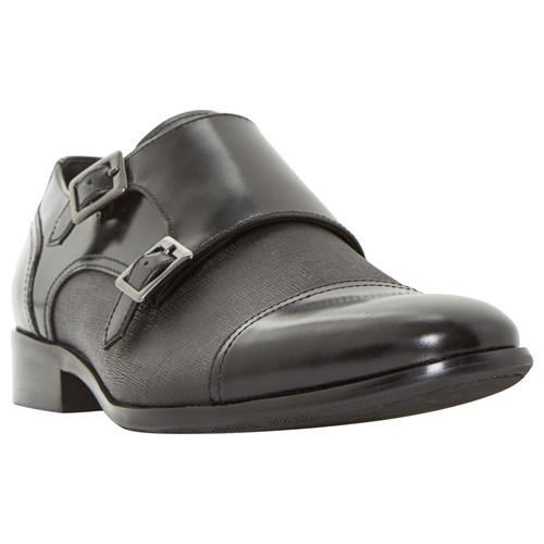 Dune Prodigy Leather Shoes Black 8fCQeo
