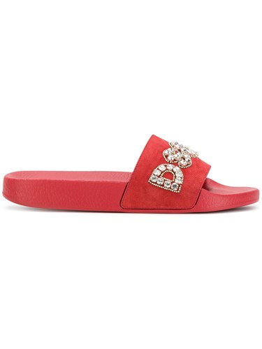 Slides Dsquared2 DSquared DSquared DSquared Crystal Dsquared2 Embellished Slides Crystal Embellished Dsquared2 Crystal 8qIqArw