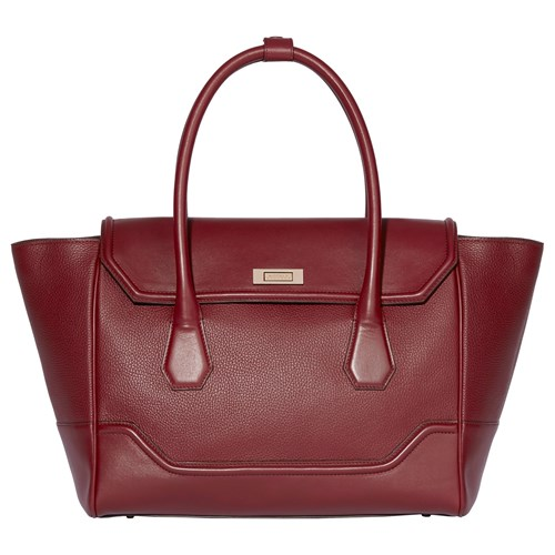 Grab Hemingway Bag Large Berry Leather Modalu PntgwqOBP
