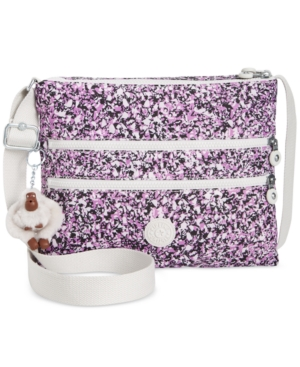 Kipling Alvar Crossbody Oceano Breeze Purple 3UKGL