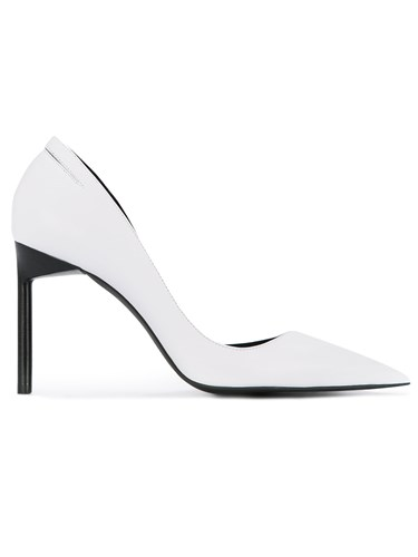 Pumps Pointed Manning Cartell Toe White qCfCtwTz