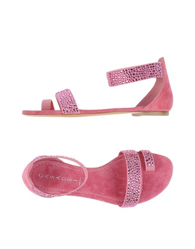 Casadei Sandals Pastel Pink TH2Xy
