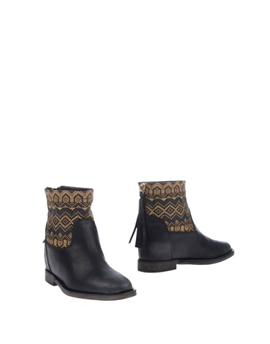 MY HEELS Ankle Boots Black mmtWHaLJWR
