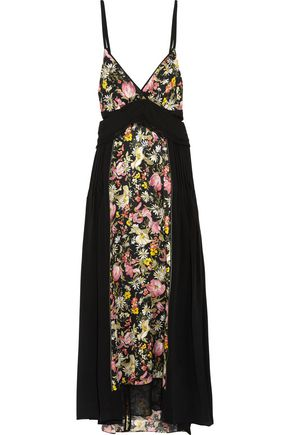 Lim Black Silk Cutout Phillip 3 Dress Midi Printed 1 a7q84gOE