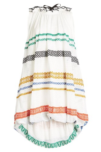 Sonia Rykiel Embroidered Dress With Cotton And Linen jfVqLzff9k