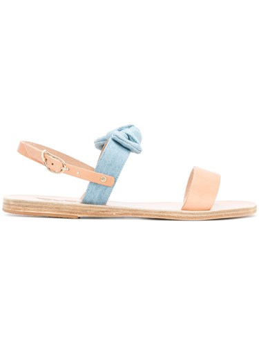 Strap Bow Greek Side Nude Sandals Neutrals And Ancient wtqPxAfnaP
