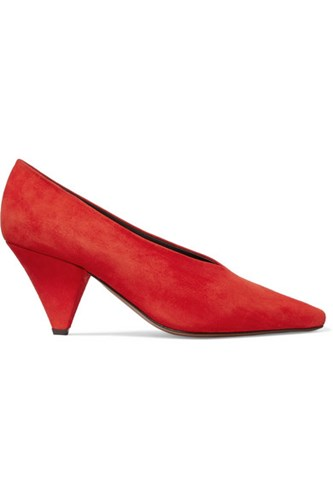 Suede Red Aunty Pumps Red Aunty Pumps Neous Neous Suede Neous Suede Aunty Pumps TH1q1v