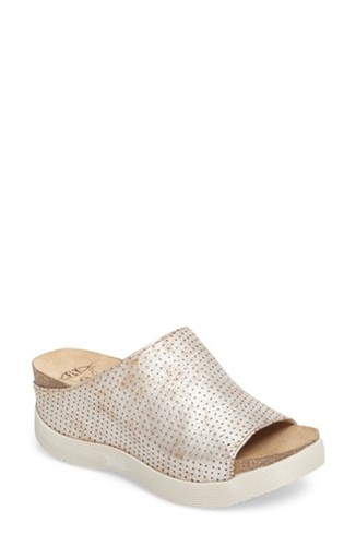 Fly London Women's Whin Platform Sandal Pearl Cool Leather gCJjP