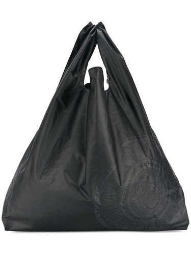 Black Mm6 Bag Shoulder Oversized Maison Margiela Polyester Martin Wp7qw0AF0