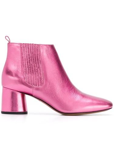 Marc Jacobs Rocket Chunky Heel Chelsea Boots Pink And Purple thDAg