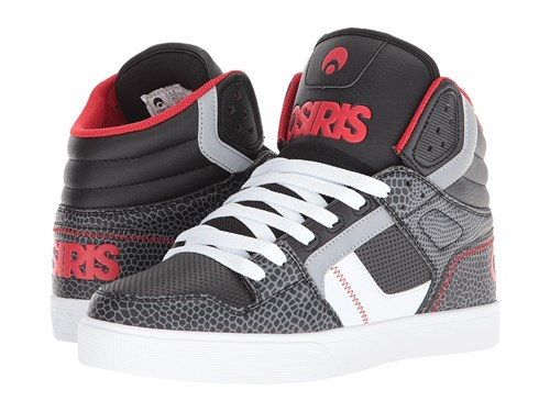 Black Skate Gray Clone Red Gator Osiris Shoes Rxn5Iqw8U
