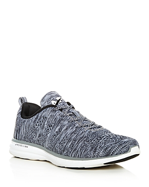 Apl Athletic Propulsion Labs Men's Techloom Pro Lace Up Sneakers Heather Gray Xl5cnzRi4w