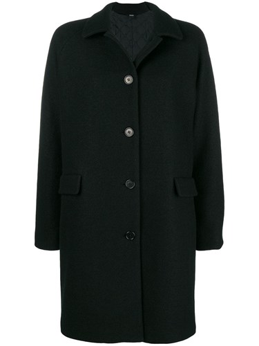Single Breasted Coat Black