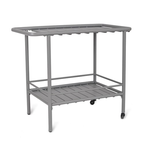 Steel Drinks Trolley Charcoal