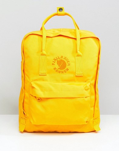Fjäll Räven Fjallraven Re Kanken Backpack 16L Yellow juTC5A