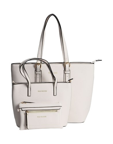 NAJ-OLEARI Handbags Light Grey 60vHNDMXmc