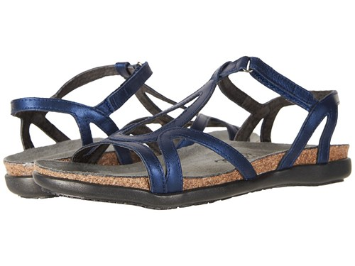 Naot Footwear Dorith Polar Sea Leather Women's Sandals Navy Ew6L4ZOrLU