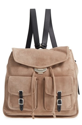 Rag and Bone Field Suede Leather Backpack Grey Warm Grey Suede 2PGWqoHi7