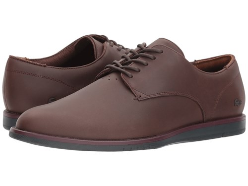 Lacoste Laccord 417 1 Cam Dark Brown Shoes JpCMY7Y