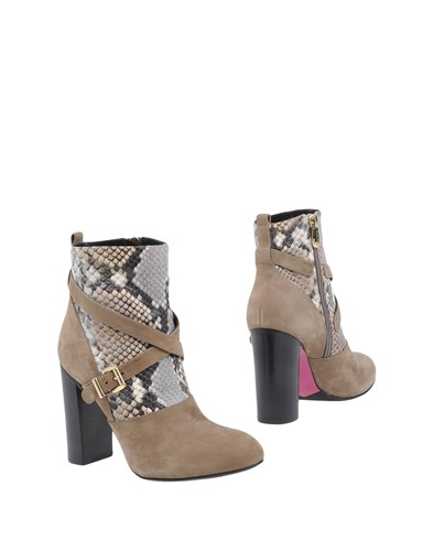 Luciano Padovan Ankle Boots Khaki Alh8P9