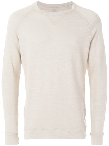 classic fitted sweater - Nude & Neutrals Majestic Filatures Shopping Online Free Shipping pFlHG