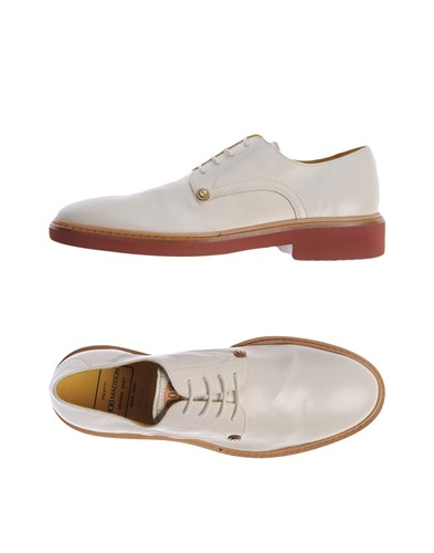PACIOTTI 308 MADISON NYC Lace Up Shoes Beige ffUjTo1ij