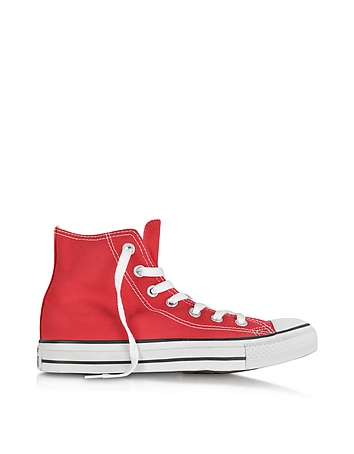 Converse Limited Edition All Star Red Canvas High Top Sneaker 2WjZkalZi