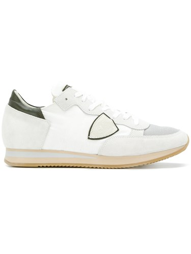 Philippe Model Tropez Sneakers Leather Polyamide Polyester Rubber White GT8xf6O