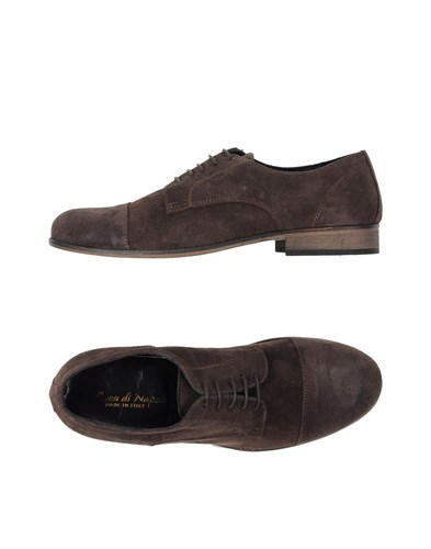 Shoes Lace DI LUCA Dark NAPOLI Brown Up c8FKP1Oq