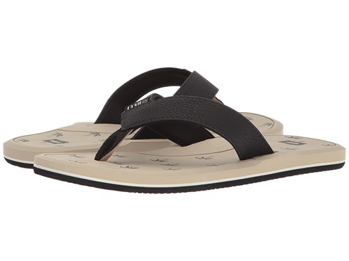 Reef Machado Day Prints Tan Palm Sandals Pc98YSk