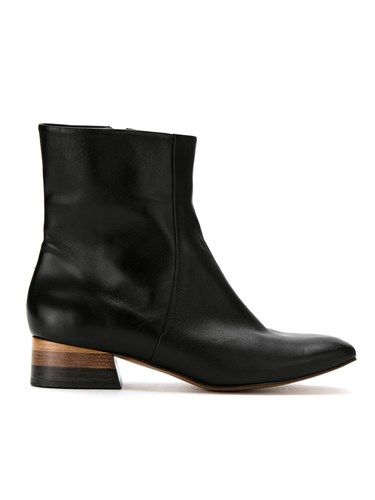 Mara Mac Leather Boots Black T3j7mJI7O