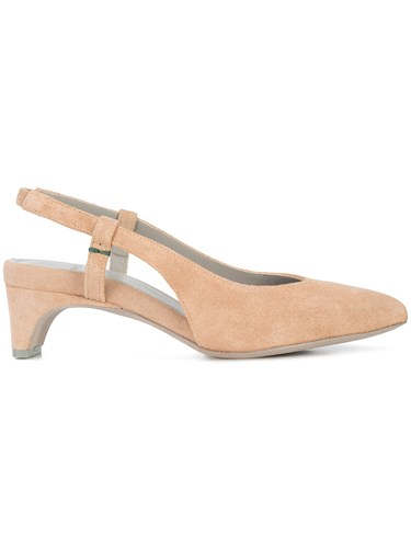 And Pumps Aeyde Nude Neutrals Slingback fqntwU