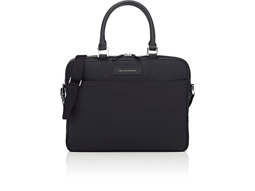 WANT Les Essentiels Men's Haneda Slim Computer Bag Black VOSaIjQ
