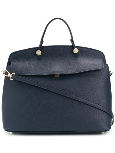 Furla Piper Tote Bag Blue EE7vl1Tz