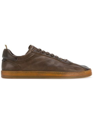 Officine Creative Low Top Sneakers Calf Leather Leather Rubber Brown 6rTqKjed2