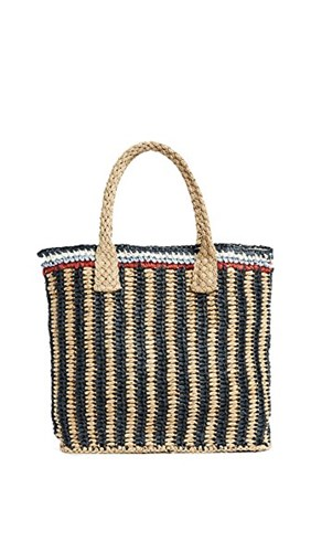 Hat Attack Stripe Handheld Tote Multi Stripe IgVWo9
