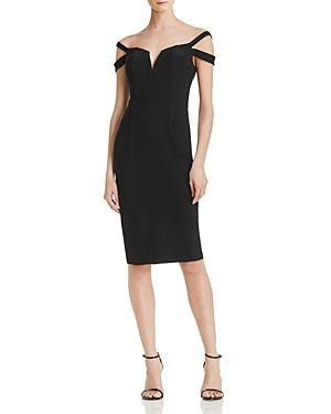 Exclusive Cocktail Off Aqua The Black Dress Shoulder 100 FapAxqS