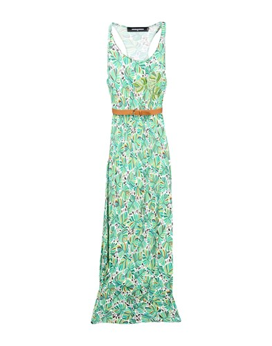 DSquared Dsquared2 Long Dresses Green 0aY80Cx