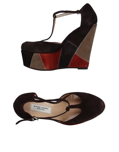 Gianni Marra Pumps Dark Brown BW8ulG